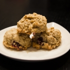 Oatmeal Cookies with Cranberries & White Chocolate Chips